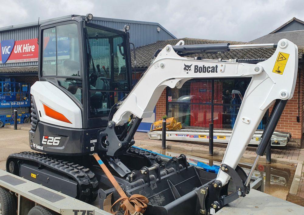 E26 Bobcat Digger