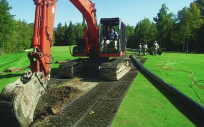 ground protection mats hire