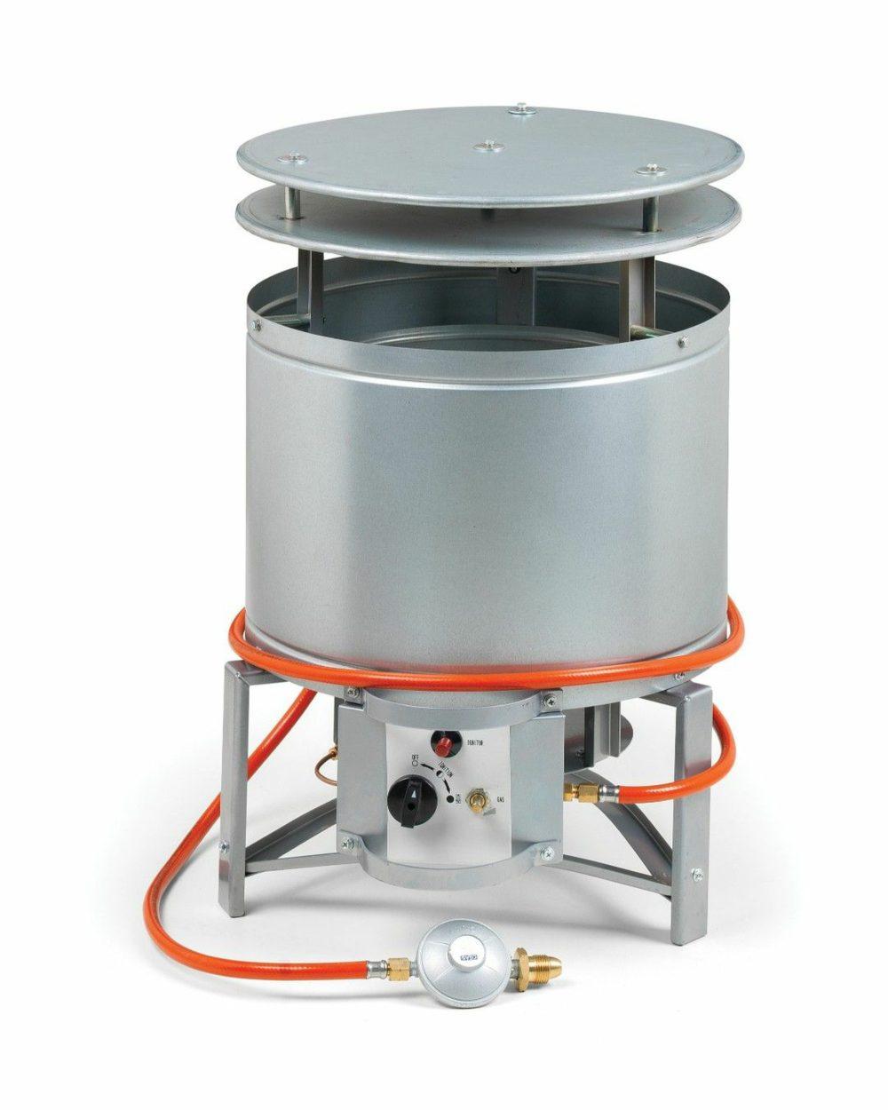 Dustbin Gas Heater