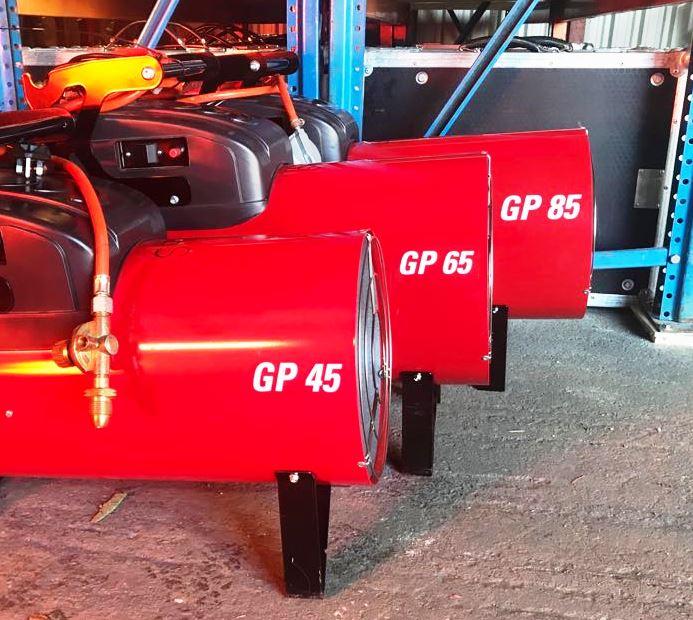 LPG & Diesel Space Heaters