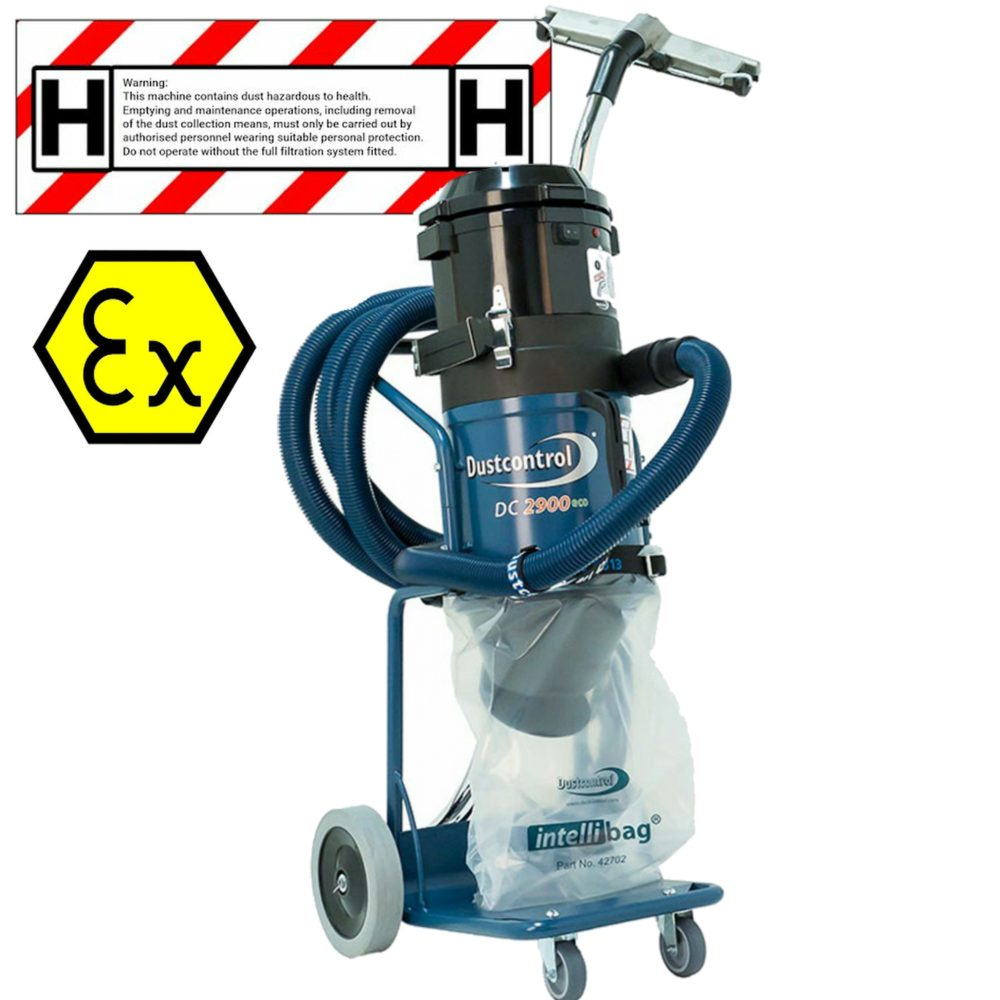 M-Class, H-Class & ATEX Rated Vacuums