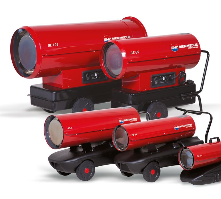 Direct Diesel Space Heaters