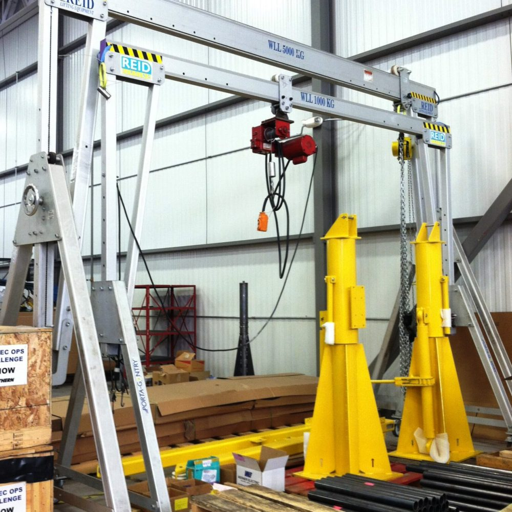 Gantries, Chain Blocks & Lifting Tackle