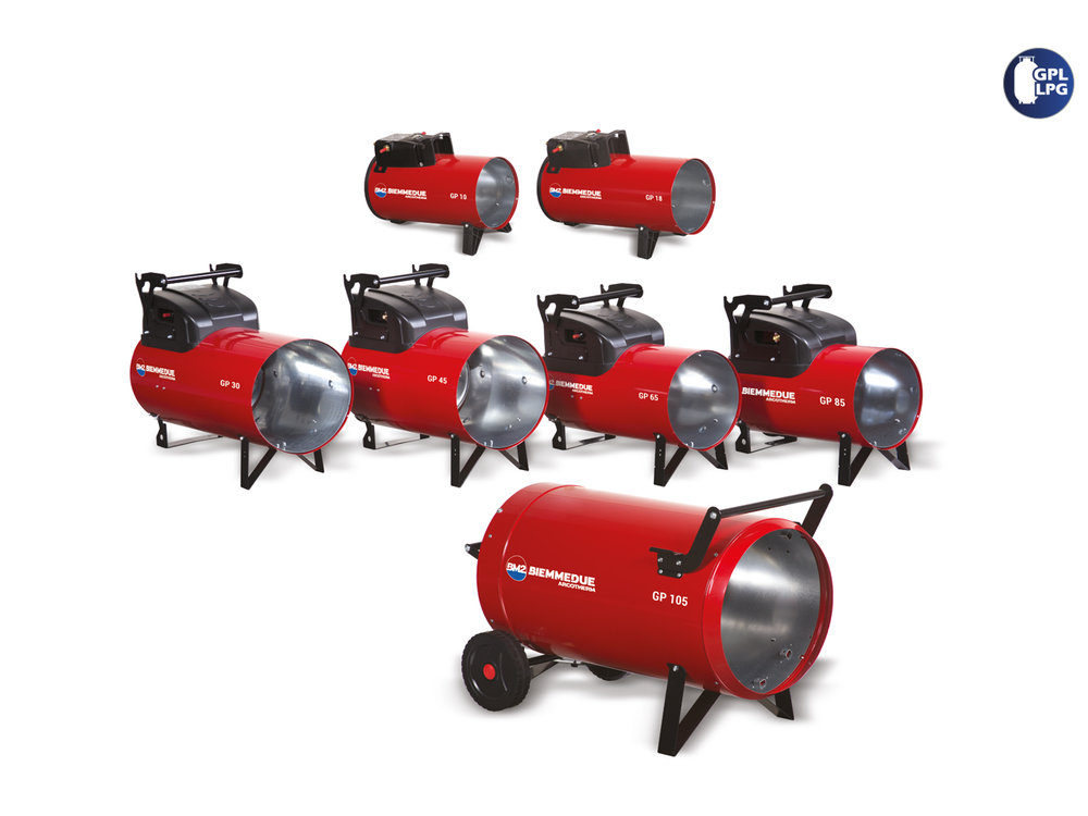 LPG / Gas Space Heaters