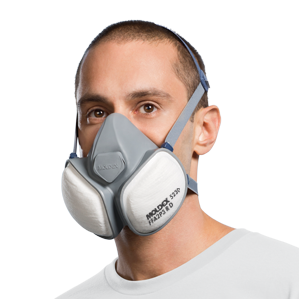 Moldex Compact Mask fitted
