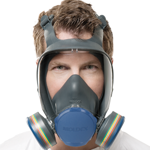 Moldex Full Face Mask fitted