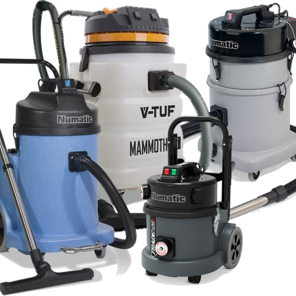 Wet & Dry Vacuum Cleaners (L & M-Class)