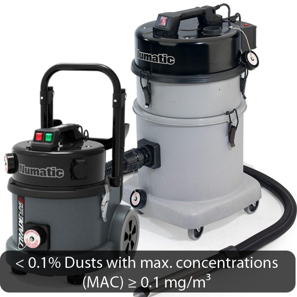 M-Class Dry Vacuums